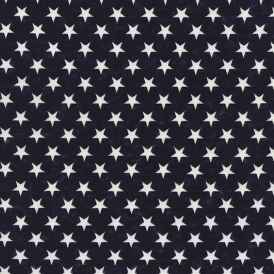 Timeless Treasures Set Stars- USA-C2852 Blue