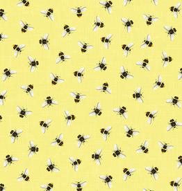 Timeless Treasures Honeybees- BEE-C7575 Yellow