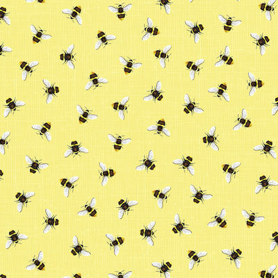 Timeless Treasures Honeybees- BEE-C7575 Yellow