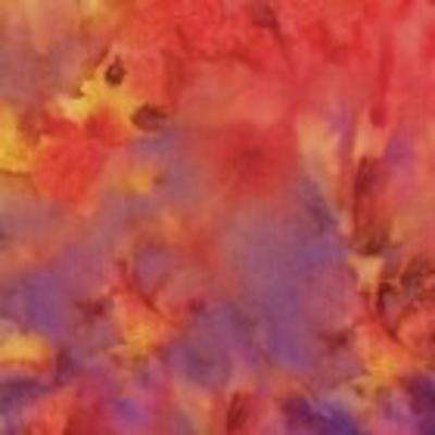 Clothworks Fresh Batiks Minerals- FBT01-55 Multi Color