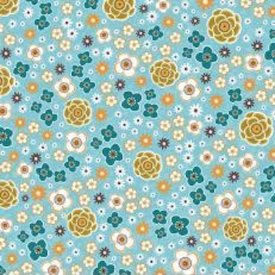 Riley Blake Enchanted garden- C8512 Turquoise