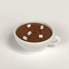 Hot Chocolate Push Pin Holder