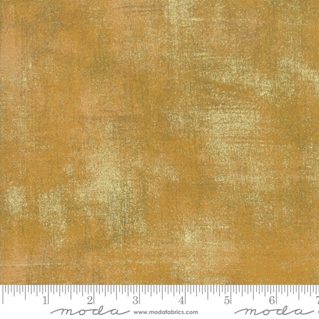 Moda Grunge Metallic- 30150-522M Harvest Gold