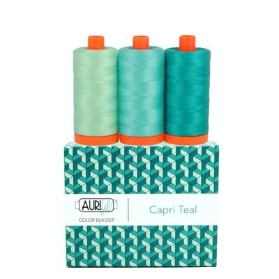 Aurifil Aurifil Color Builder 3 pack- Capri Teal
