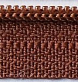 "14"" Zipper - Chocolate Syrup"