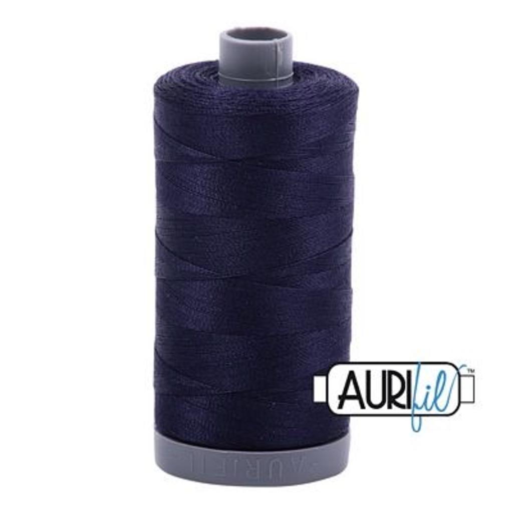Aurifil 28 wt. Quilting Thread-2785 Very Dark Navy