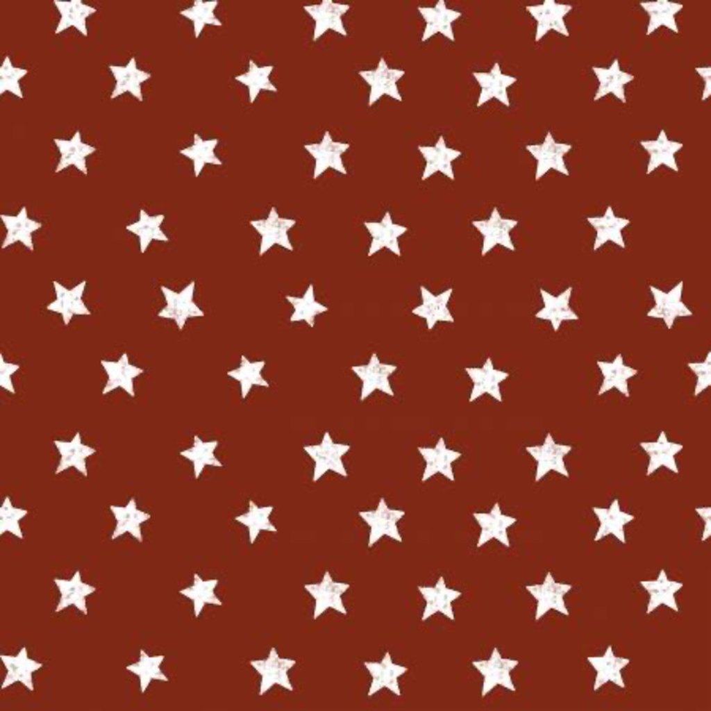 Clothworks Home of the Free Stars - Y2924-83 Dark Red