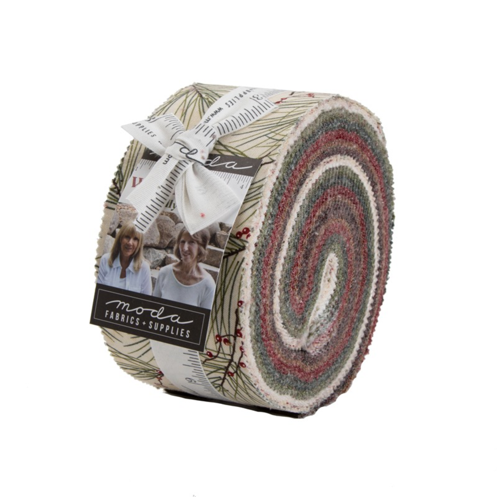 Moda Jelly Roll Winter White