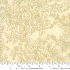 Moda Poinsettias Pine Cream- 33516 11M Natural