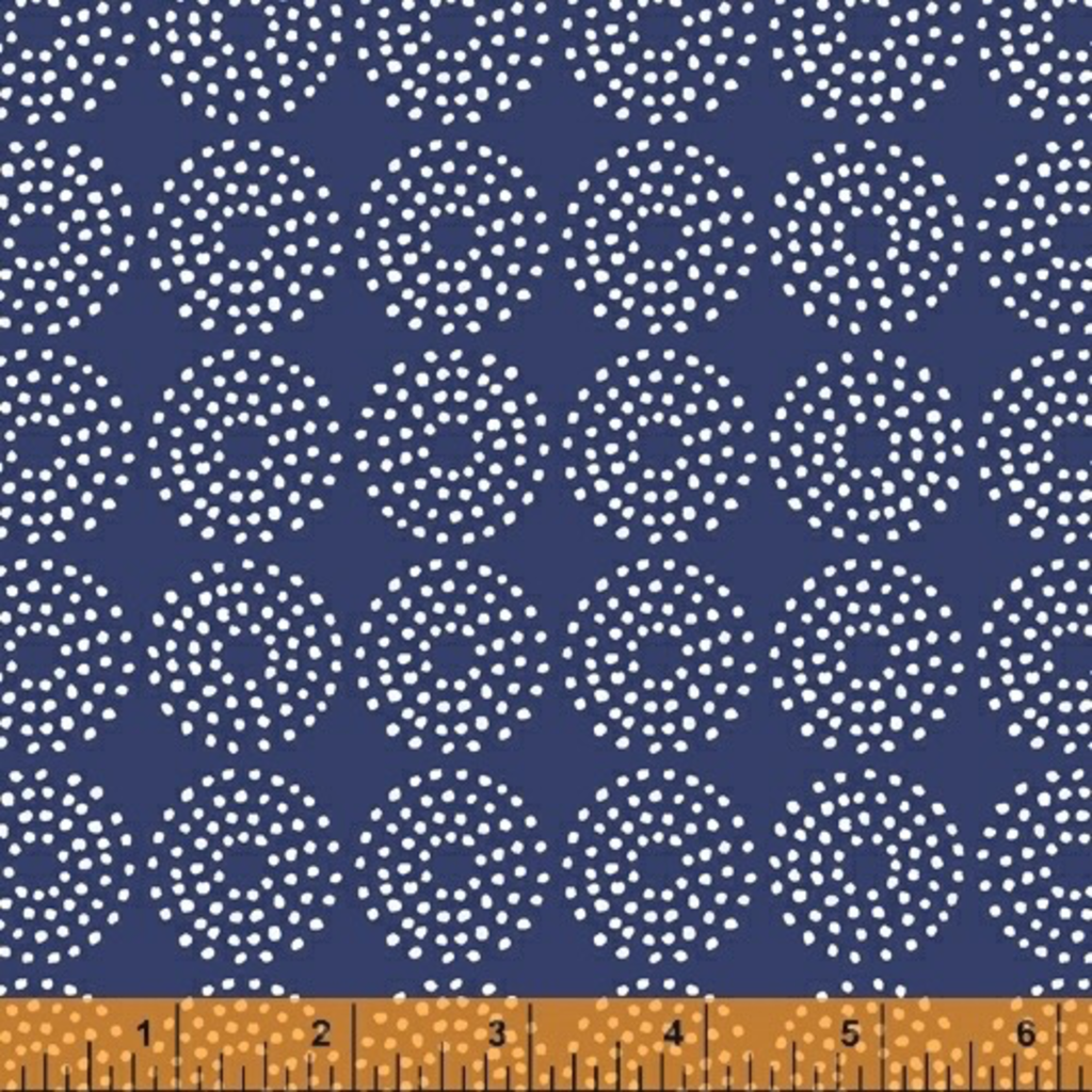 Backyard Blooms- 51822-1 Navy