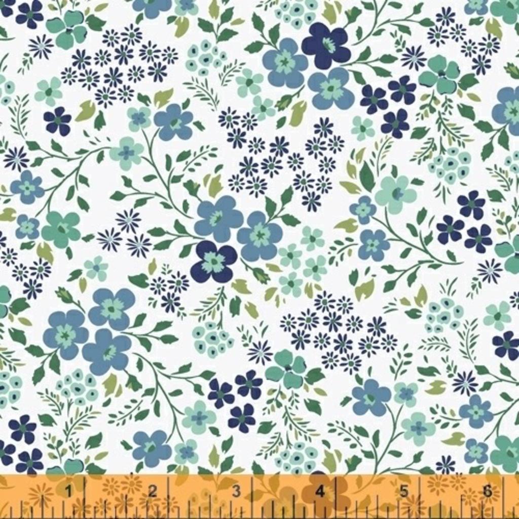Backyard Blooms- 51825-3 White