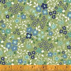 Backyard Blooms- 51825-9 Green