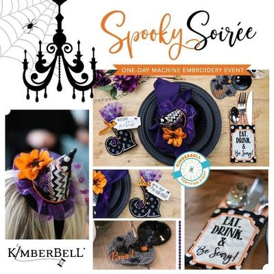 Spooky Soiree Virtual Kimberbell Event- August 22nd, 2020 8:30am-4:00pm PST