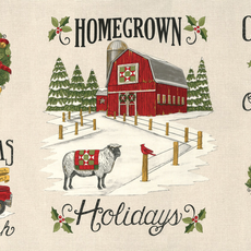 Moda Homegrown Holidays Winter- 19940 11 White
