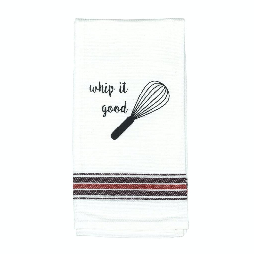 Pun Saying Tea Towel Whip It