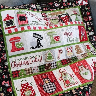 We Whisk You A Merry Christmas Virtual Sew-Along part 1- October 17th, 2020 9:00a- 11a PST
