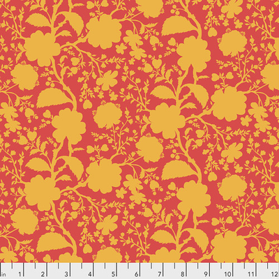 Free Spirit Tula Pink Wildflower- PWTP149.SNAPDRAGON Snapdragon