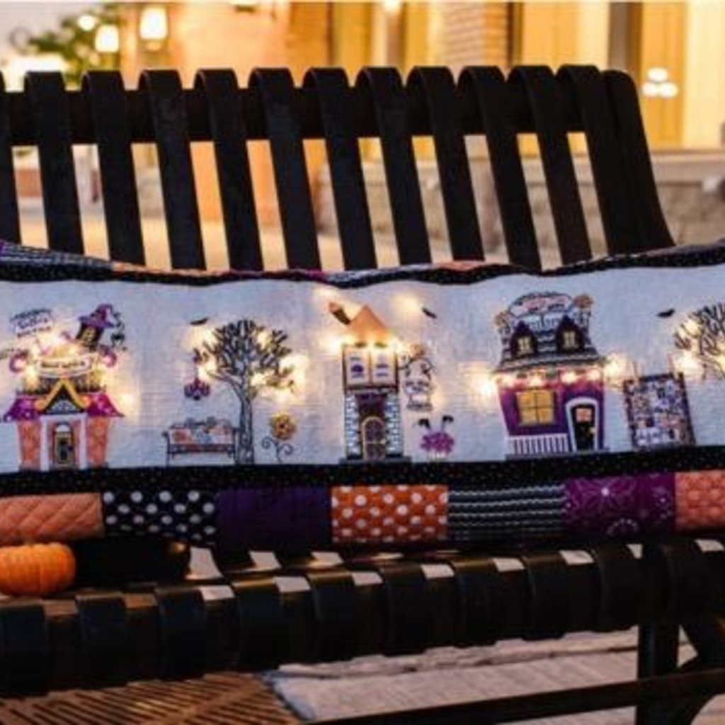 Kimberbell Twilight Boo-Levard Bench Pillow Kit