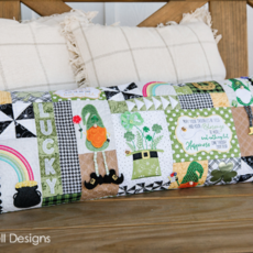 Virtual Luck o' the Gnome Bench Pillow Friday, September 11th 10:00a-1:00p PST