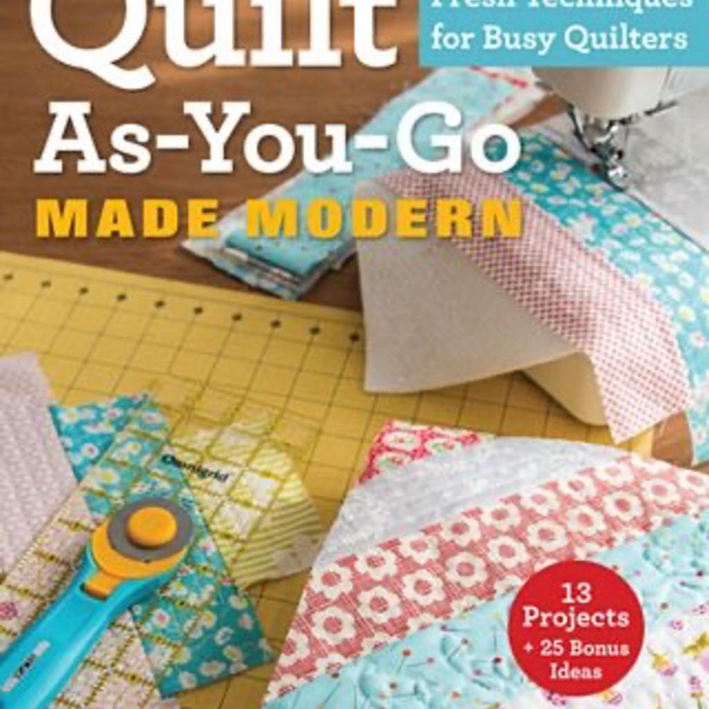 Quilt as you Go Made Modern Stash Books