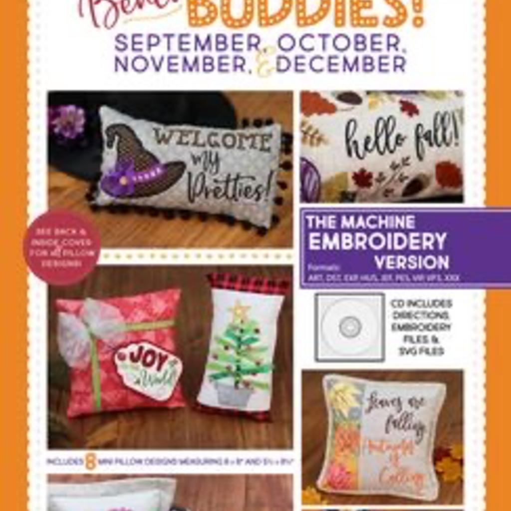 Kimberbell Bench Buddies Sept, Oct, Nov & Dec ME Version