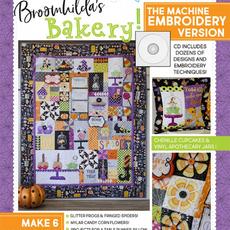 Broomhildas Bakery Machine Embroidery CD
