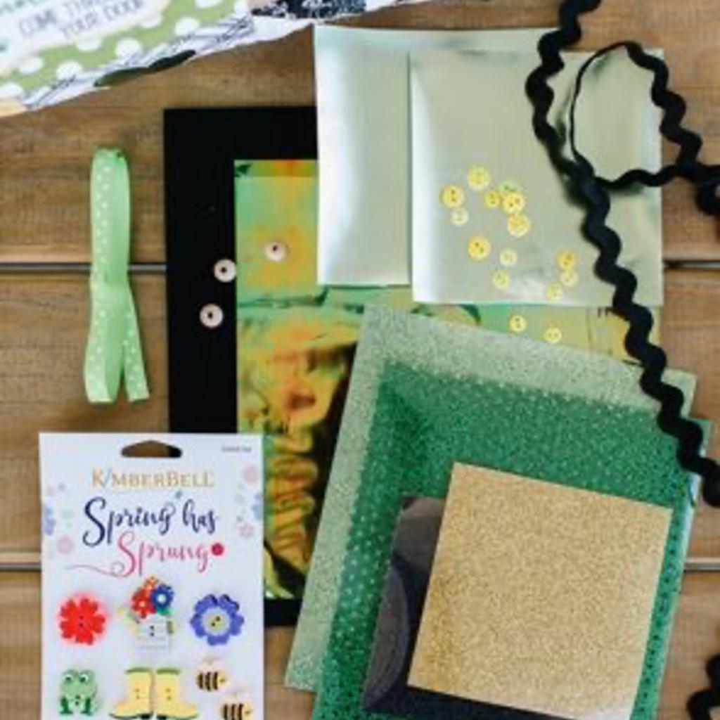 "Kimberbell Luck O"" the Gnome Embellishment Kit"