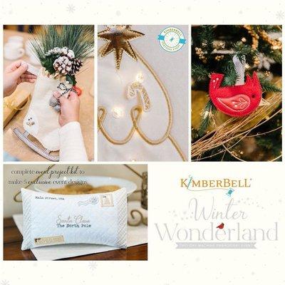 Winter Wonderland Virtual Kimberbell Event- November 20th & 21st, 2020 8:30am-3:30pm PST