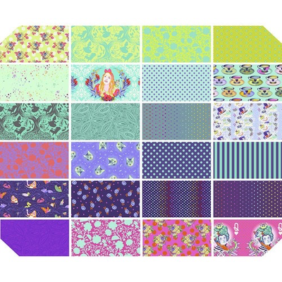 Tula Pink Pre-Order Tula Pink Curiouser & Curiouser- Daydream Fat Quarter