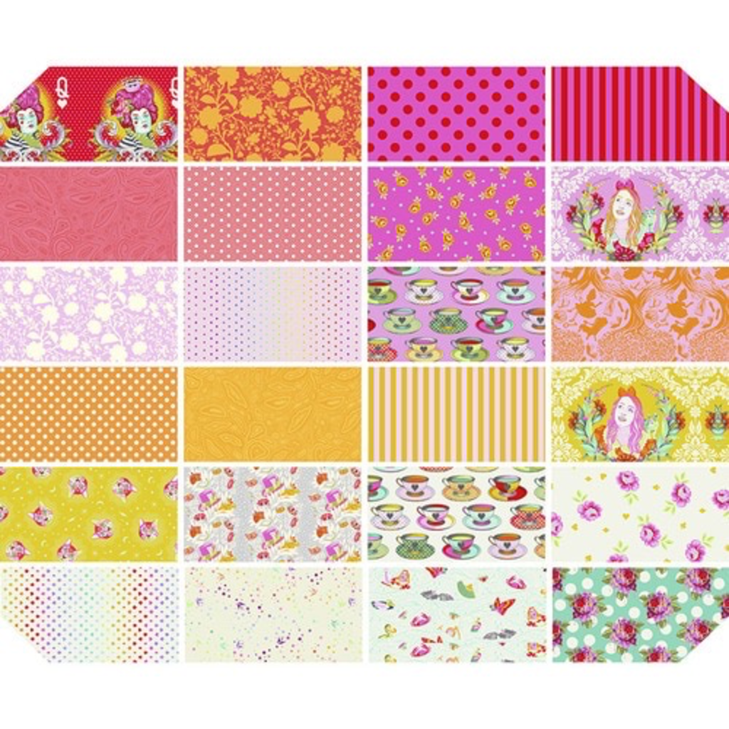 Tula Pink Pre-Order Tula Pink Curiouser & Curiouser Wonder Fat Quarter