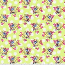 Tula Pink Pre-Order Tula Pink Curiouser & Curiouser Painted Roses- PWTP161.SUGAR Sugar