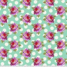 Tula Pink Pre-Order Tula Pink Curiouser & Curiouser Painted Roses- PWTP161.WONDER Wonder