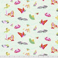 Tula Pink Pre-Order Tula Pink Curiouser & Curiouser Sea of Tears- PWTP162.WONDER Wonder