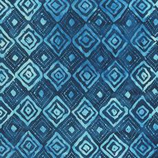 Diamond Indigo Batiks- 846Q-2 Blue