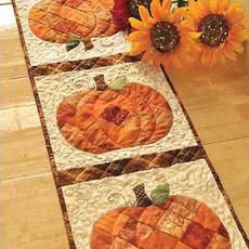 Patchwork Pumpkin Table Runner