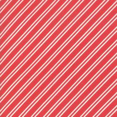 Moda At Home Tie Stripe- 55206 11 Red