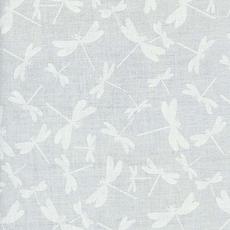 Timeless Treasures Dragonflies- HUE-C7717 White