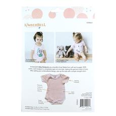 Kimberbell Baby Bodysuits 6-9 Months- Blushing Peach