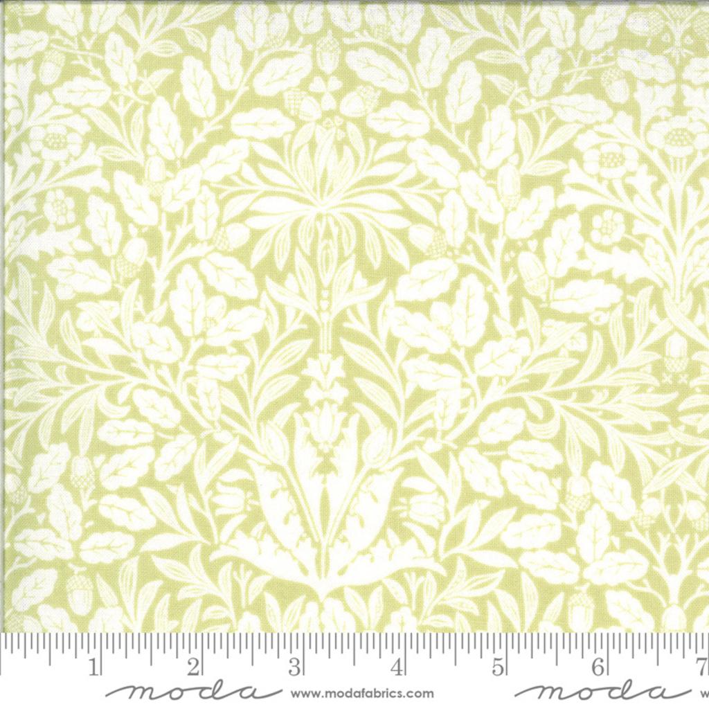 Moda Dover Acorn Damask Willow- 18701 19 Light Green
