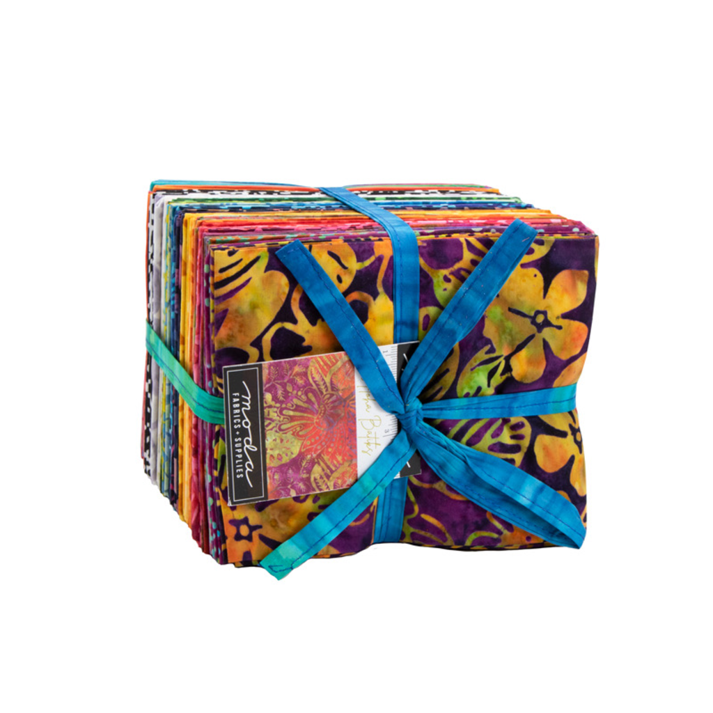 Moda Aloha Batiks Fat Quarter Pack of 40