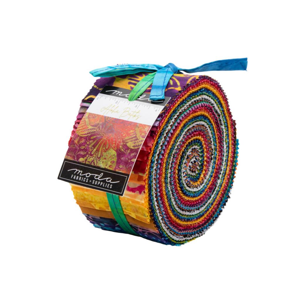 Moda Aloha Batiks Jelly Roll