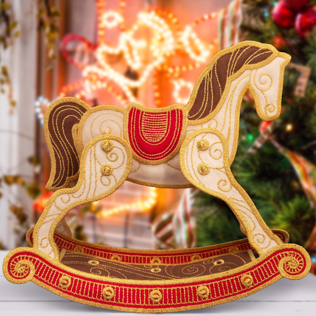 Freestanding Rocking Horse CD
