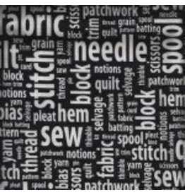 Sew & Tell 6934-Black