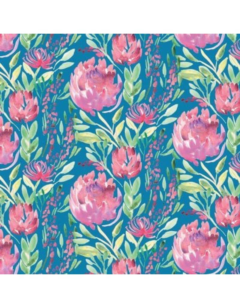 Artichoke Garden PWCH004-Teal