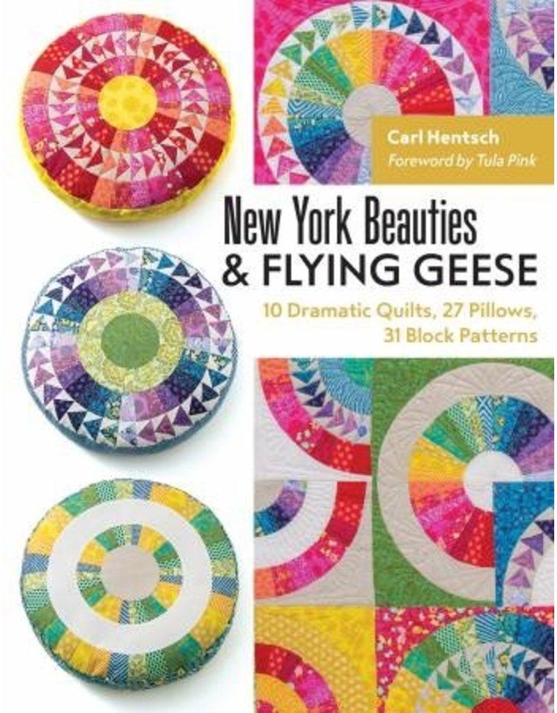 New York Beauties & Flying Geese<br /> New York Beauties & Flying Geese