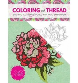 Tula Pink Coloring with Thread