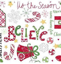 Jingle all the Way MAS8247-W