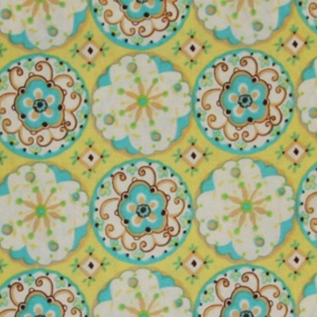Circle Blossoms DF11.Mint