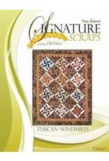 Signature Scraps Pattern- Tuscan Windmills