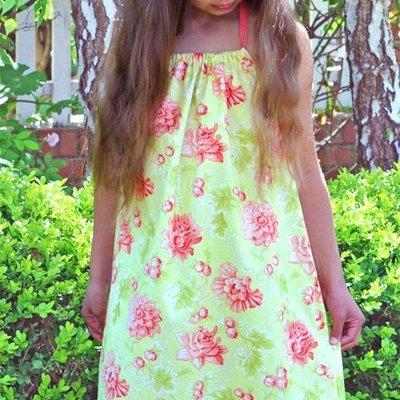 Summertime Pillowcase Dress Pattern